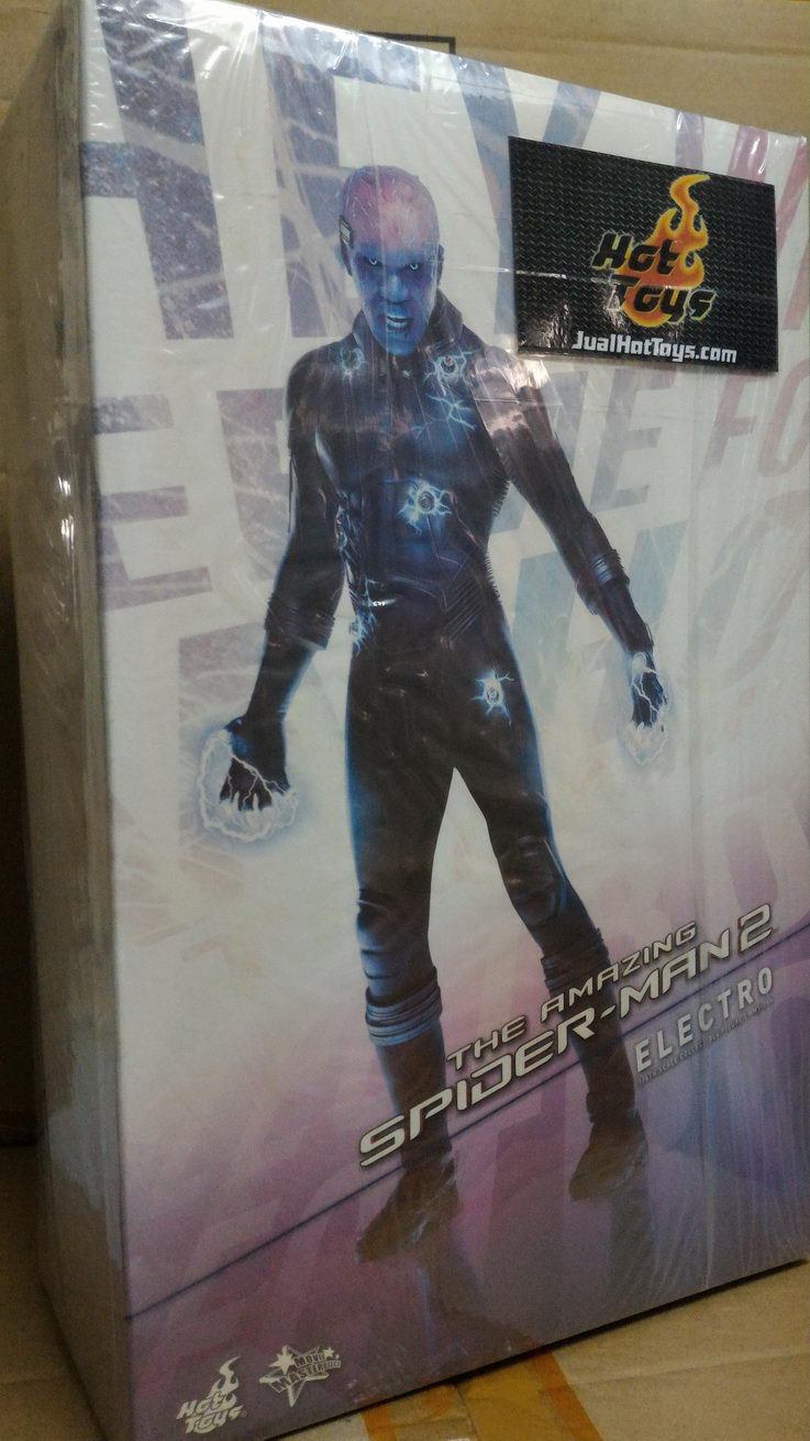 Jualhottoys Com Hot Toys Electro Spiderman 2 Mms246