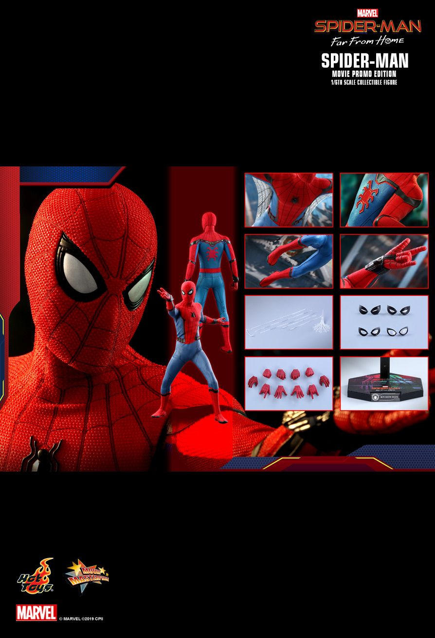 JualHotToys.com Toko JUAL Hot Toys Spiderman Far From Home MMS535 1/6 Movie Action Figure Harga Murah - MISB Produk Distributor Resmi Jakarta Indonesia